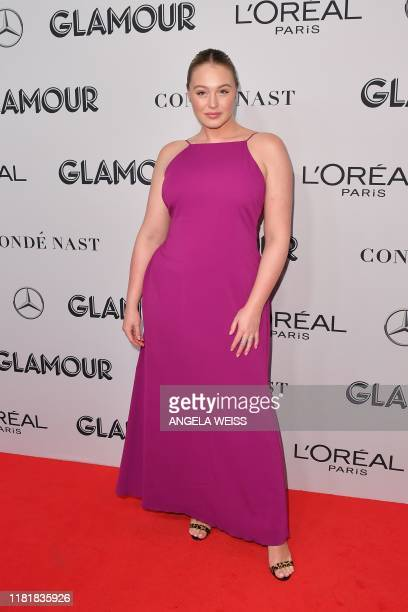 British model Iskra Lawrence attends the 2019 Glamour Women Of The Year Awards at Alice Tully Hall Lincoln Center on November 11 2019 in New York City