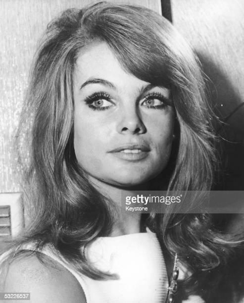 British model Jean Shrimpton 1965