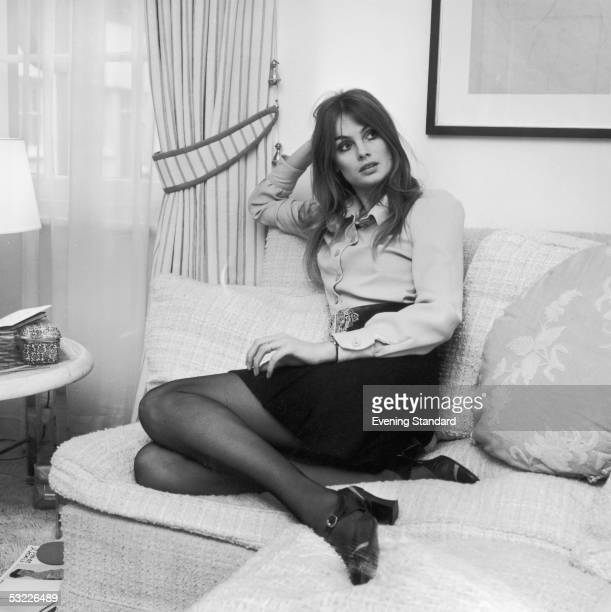 British model Jean Shrimpton 25th January 1969
