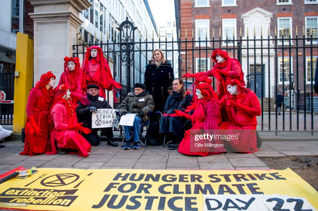 Extinction Rebellion '12 Days of Crisis' Protest In Central London : News Photo