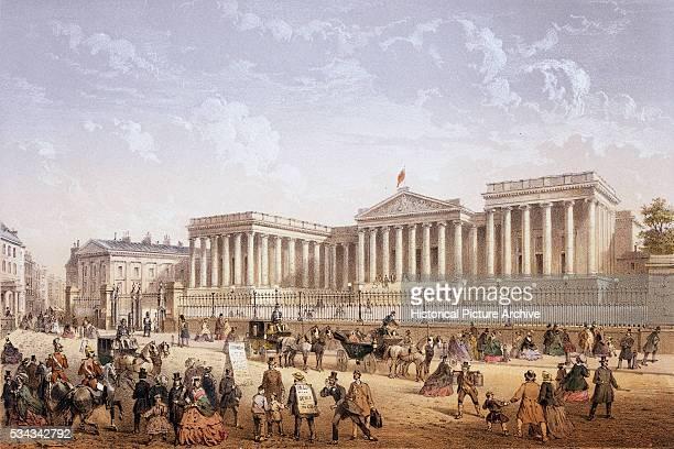 British Museum by Achille Louis Martinet