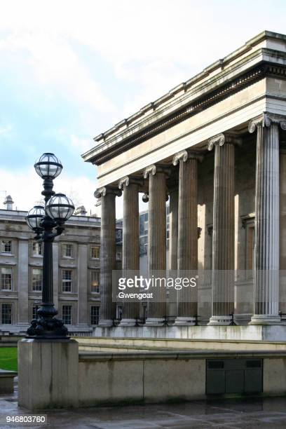 british museum in london - gwengoat stock pictures, royalty-free photos & images