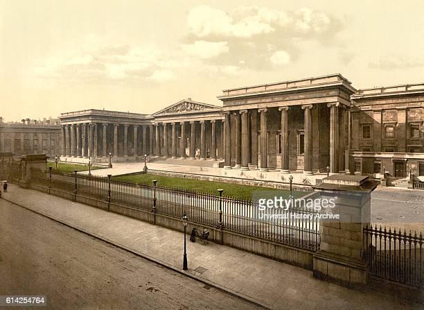 British Museum London England UK Photochrome Print circa 1900
