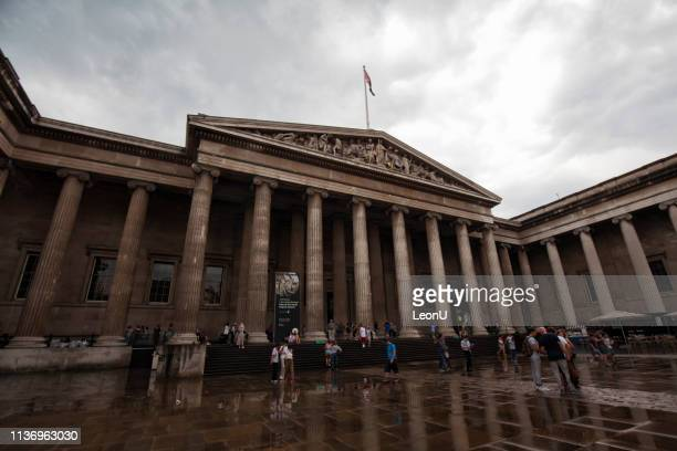 british museum, london, england, uk - british museum stock pictures, royalty-free photos & images