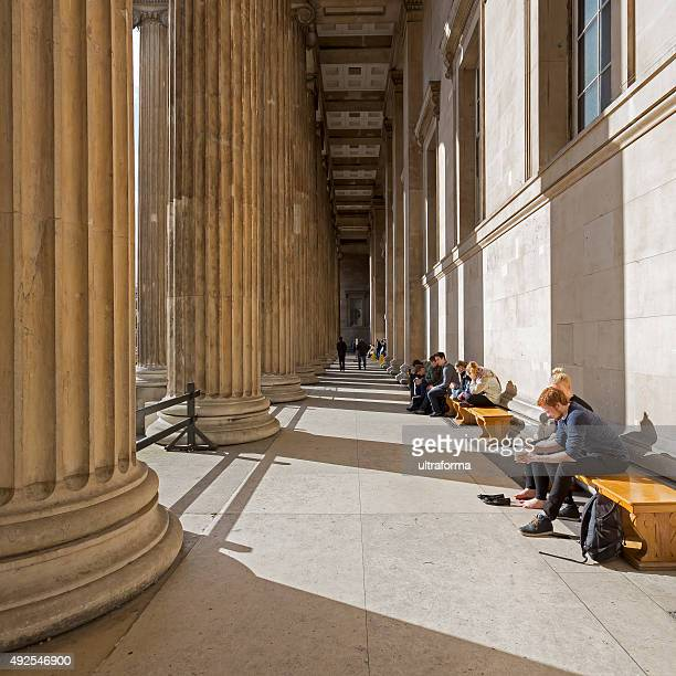 british museum london - bloomsbury london stock photos and pictures