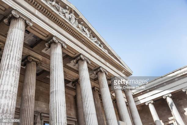 british museum london - british museum stock photos and pictures