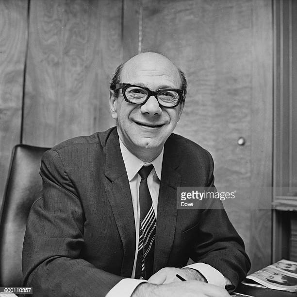 British music publisher Dick James , chairman of music producers Northern Songs, UK, 15th November 1967.