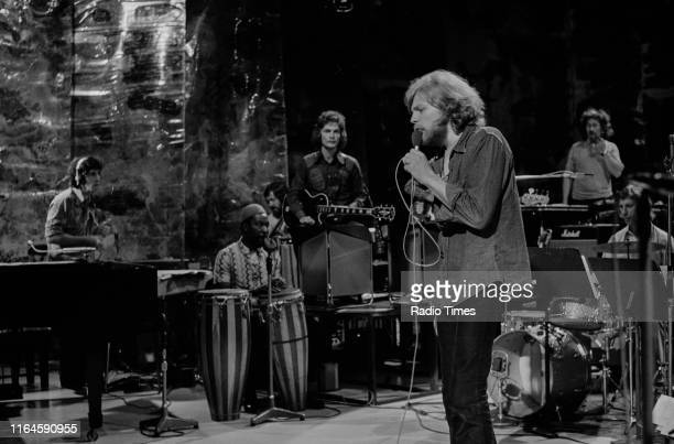 British musical group Collective Consciousness Society ; John Cameron , Alan Parker , Peter Thorup and Barry Gordon , performing on stage, July 27th...