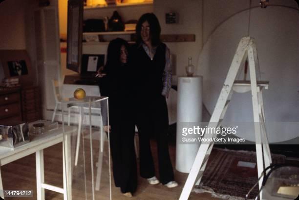 British musican and artist John Lennon and Japaneseborn artist and musician Yoko Ono December 1968