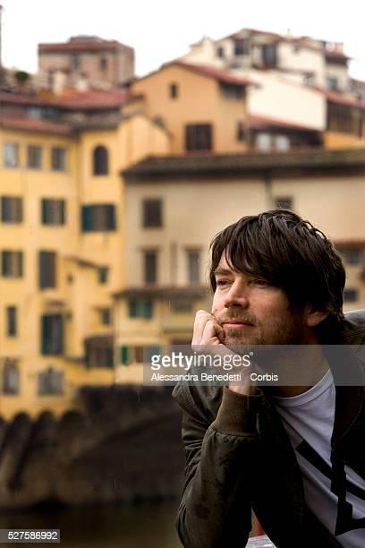 British musician Alex James in Florence