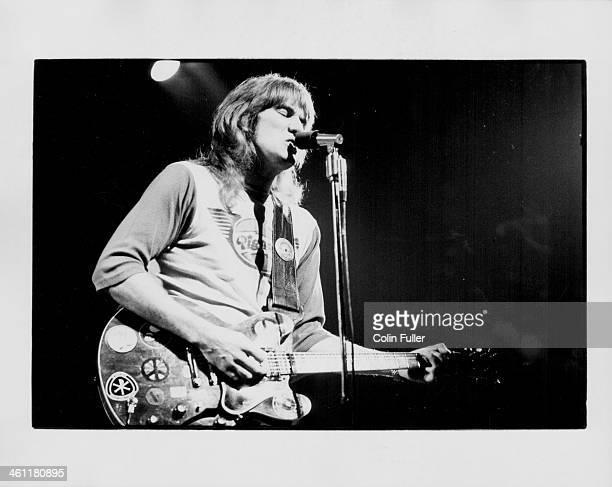 British musician Alvin Lee on stage 1972