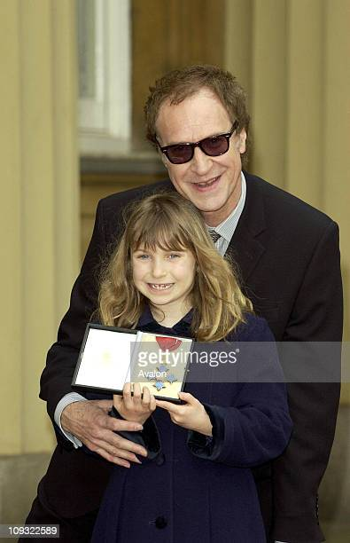 British Musician And Member Of The Group The Kinks Ray Davies With His Daughter Eva After He Collected His CBE Award From Hm Queen At Buckingham...