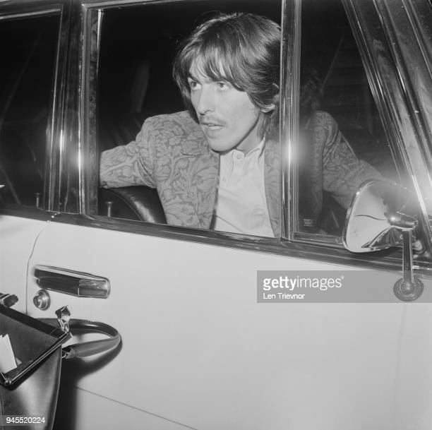 British musician and singersongwriter George Harrison UK 16th May 1968