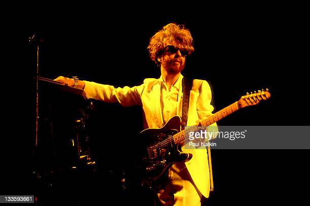 British musician David A Stewart of the Eurthymics performs at the Park West Chicago Illinois July 29 1986