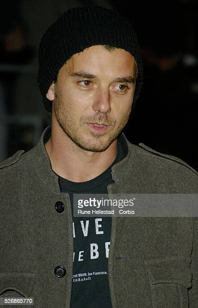 British musician Gavin Rossdale arrives at the world premiere of Matthew Vaughn's movie 'Layer Cake' at the Electric Cinema in Notting Hill