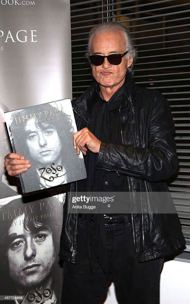 Jimmy Page Book Presentation In Berlin