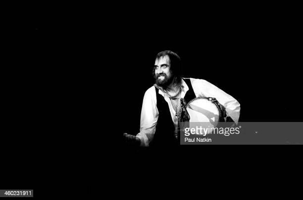 British musician Mick Fleetwood of the band Fleetwood Mac performs at the Rosemont Horizon Rosemont Illinois May 14 1980