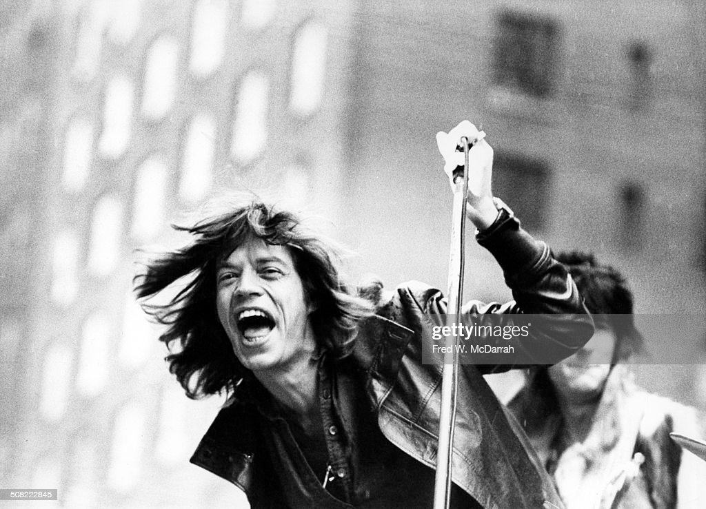 Rolling Stones On Fifth Avenue : News Photo