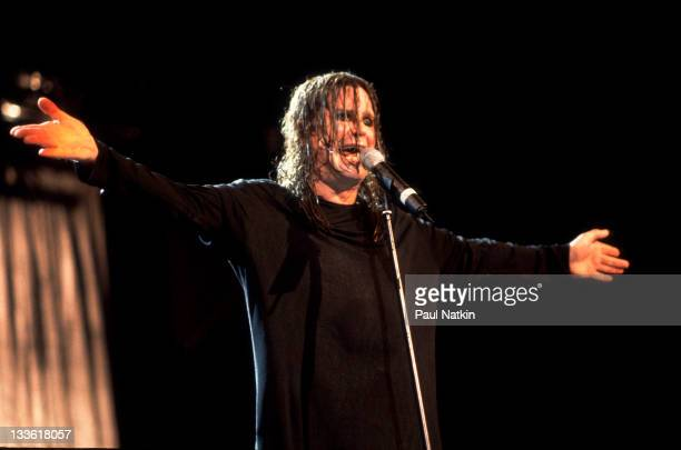British musician Ozzy Osbourne performs at the Allstate Arena Rosemont Illinois October 22 1998