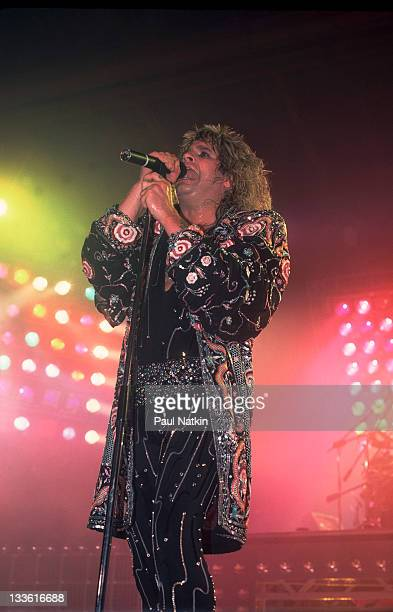 British musician Ozzy Osbourne performs at the Rosemont Horizon Rosemont Illinois April 5 1986