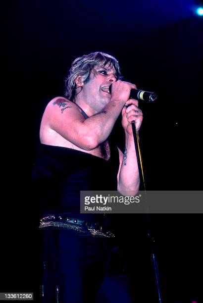 British musician Ozzy Osbourne performs at the Rosemont HorizonRosemont Illinois March 4 1984