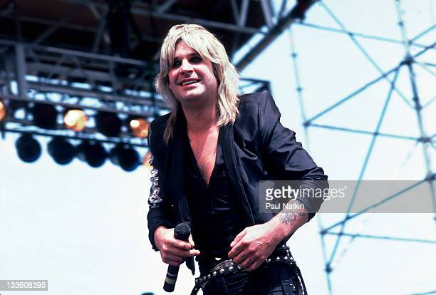 British musician Ozzy Osbourne performs at the US Festival San Bernardino California May 29 1983