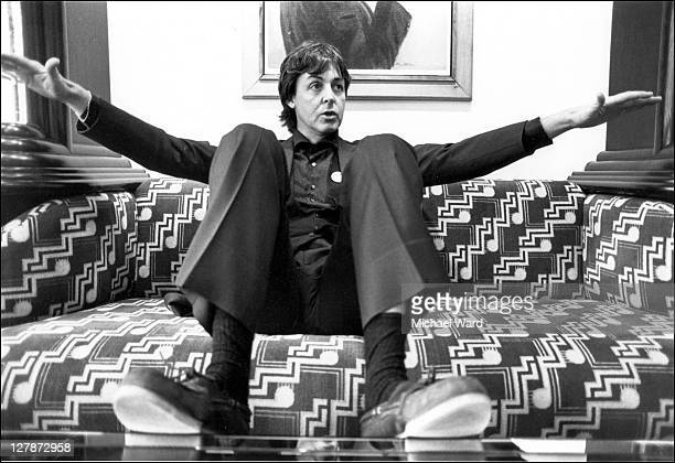 British musician Paul McCartney
