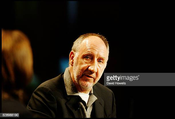 British musician Pete Townshend of the Who at the SXSW music festival in Austin Texas