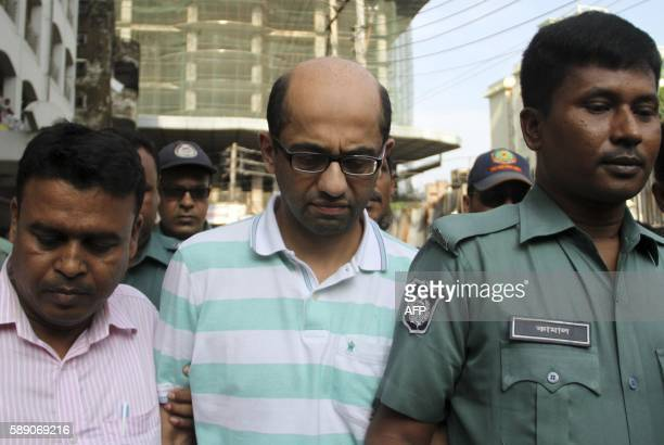 British national Hasnat Karim leaves after his court appearance in the Bangladesh capital Dhaka on August 13 2016 Bangladeshi police have formally...