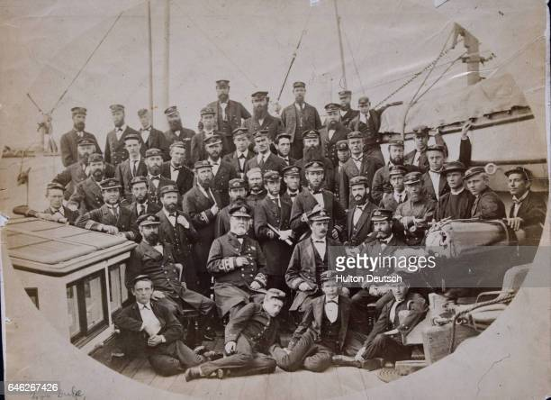 British Naval Crew Aboard Ship
