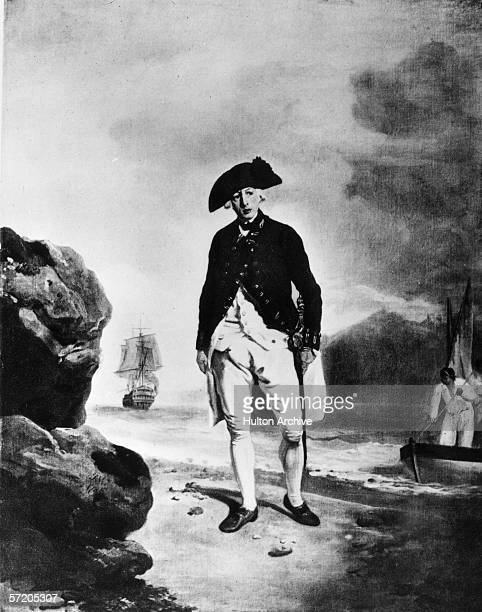 British naval officer Admiral Arthur Phillip , the founder of Sydney, lands in Australia. Having been appointed Governor-designate of New South...