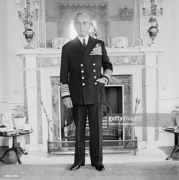 British naval officer Louis Mountbatten 1st Earl Mountbatten of Burma 26th July 1968