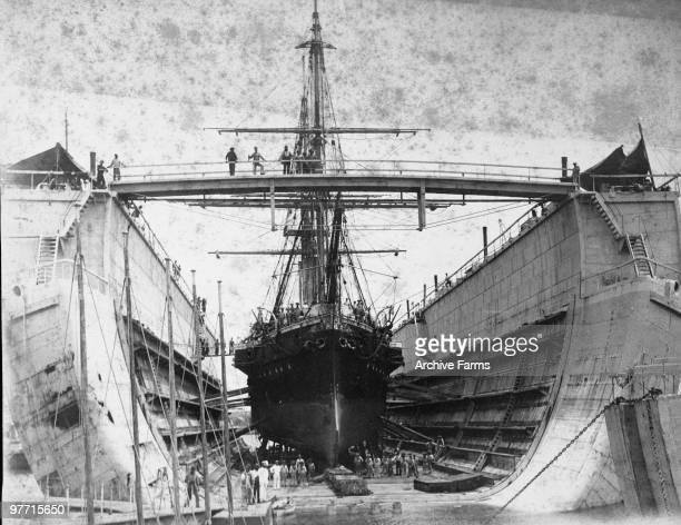 British navy dry dock Bermuda