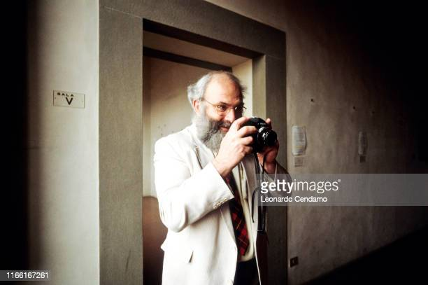 British neurologist naturalist historian of science and author Oliver Wolf Sacks Milan Italy 11th April 2002