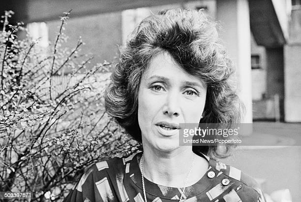 British newsreader and television presenter Jan Leeming in London on 17th September 1984