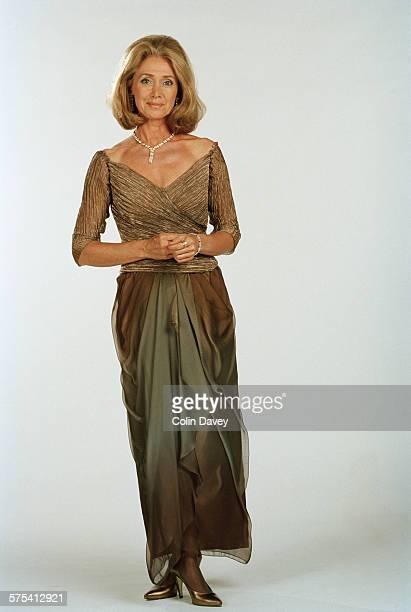 British newsreader and television presenter Jan Leeming UK 5th August 1996