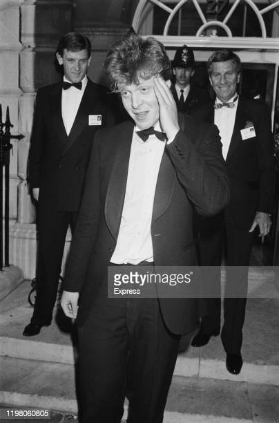 British nobleman, peer, author, journalist, and broadcaster Charles Spencer, 9th Earl Spencer, London, UK, 21st May 1985.