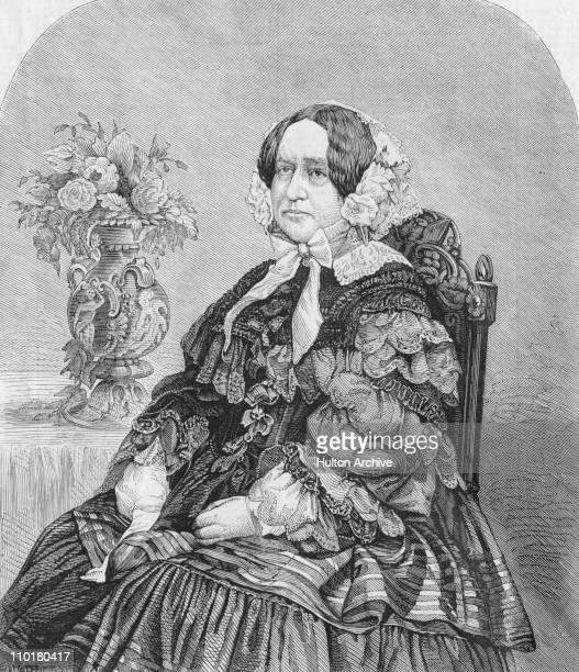 British novelist Catherine Grace Frances Gore circa 1850 By A Williamson