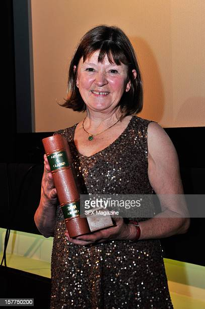 British Novelist Jane Rogers Receiving The Arthur C Clarke Award For Novel The Testament Of Jessie