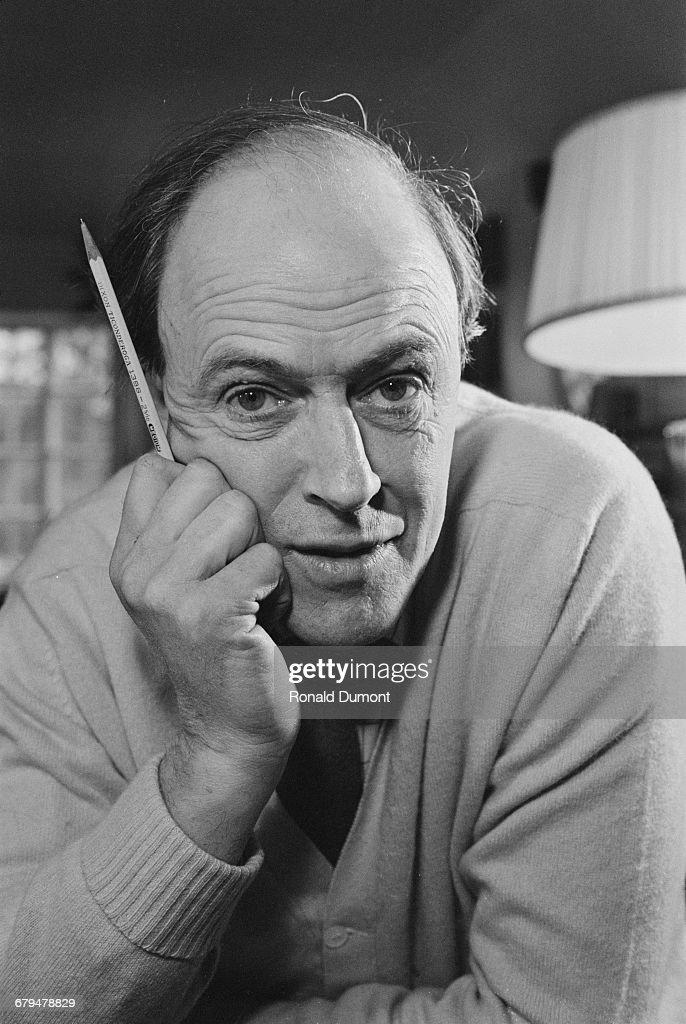 British novelist Roald Dahl (1916 - 1990), UK, 10th December 1971.