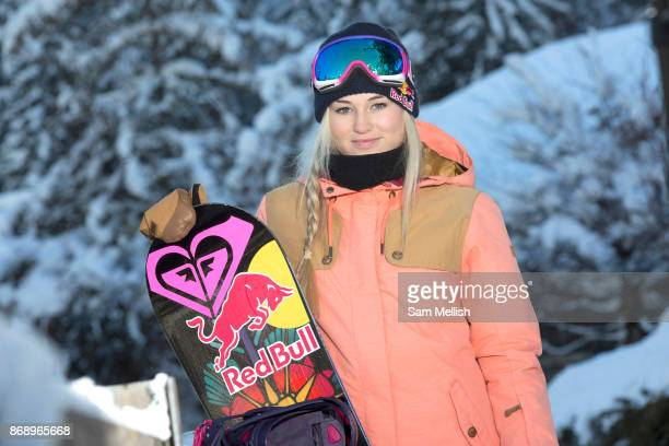 British Olympic Freestyle Snowboarder Katie Ormerod during the Laax Open on 18th January 2017 in Laax Ski Resort Switzerland