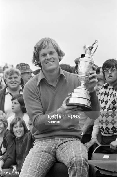 British Open 1976 Royal Birkdale Golf Club Southport Sefton Merseyside 10th July 1976 Open Champion 1976 Johnny Miller