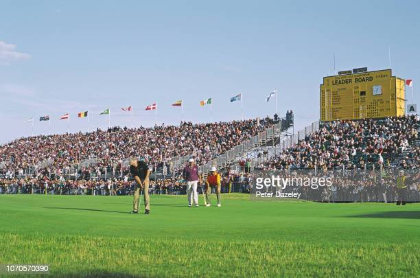 British Open Golf Championship held at the Royal St George's Golf Club in Sandwich Kent on the 18th July 1993