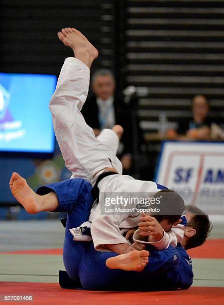 British open Judo at the SSE Arena Wembley UK Final 66 KG Nathan Burns GBR v Sam Hall GBR
