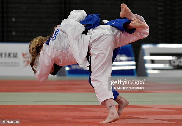 British open Judo at the SSE Arena Wembley UK Final63KG Lucy Renshall GBR v Amy Livesey GBR
