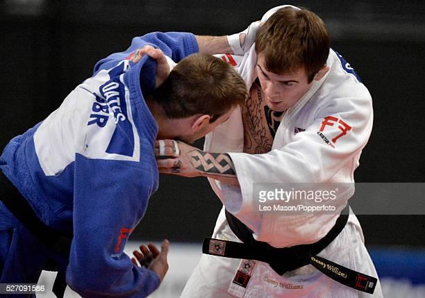 British open Judo at the SSE Arena Wembley UK Final73KG Danny Williams GBR v Colin Oates GBR