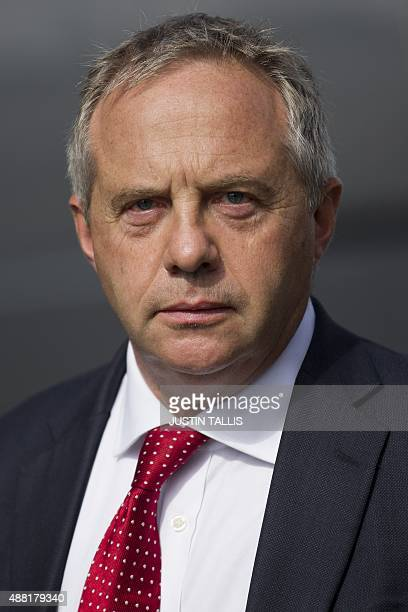 British opposition Labour MP John Mann walks past the Houses of Parliament in London on September 14 2015 AFP PHOTO / JUSTIN TALLIS