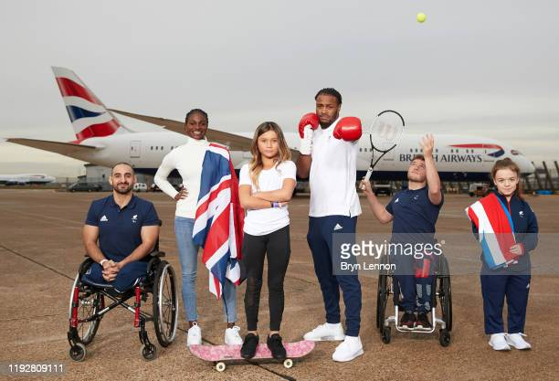 British Paralympic powerlifter Ali Jawad, World champion sprinter Dina Asher-Smith, Skateboarder Sky Brown, British Boxer Cheavon Clarke, Double...