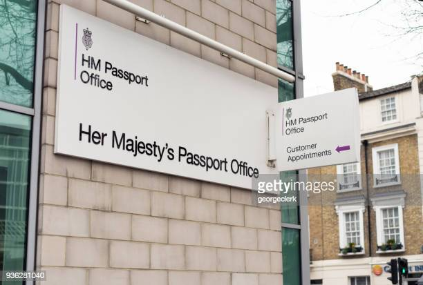 british passport office in london - citizenship stock pictures, royalty-free photos & images