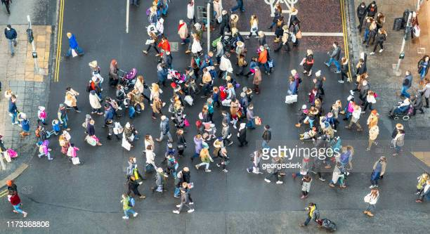 british pedestrian crossing - diversity stock pictures, royalty-free photos & images